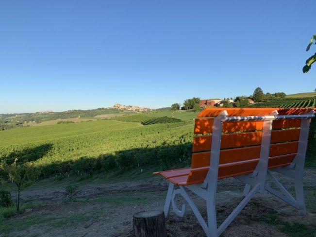 Panchina Vignale Monferrato